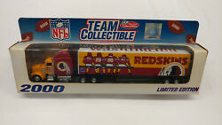 2000 White Rose Washington Redskins 1/80 Tractor Trailer Limited Edition