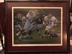 Alabama Football Rebirth In The Swamp Daniel Moore Numbered Signature Edition