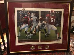 Alabama Football The Game Changers Daniel Moore Numbered Signature Edition