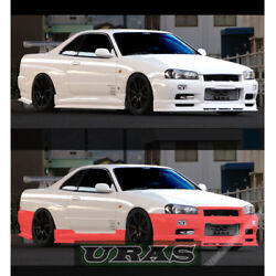 Nomuken URAS nissan R34 SKYLINE 2door Full Body Kit Made in JAPAN  Genuine URAS