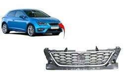 Seat Leon 2013-2017 Upper Centre Front Main Grille Fr Models Insurance Approved