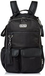 Itzy Ritzy Boss Backpack Diaper Bag Backpack in Black Herringbone