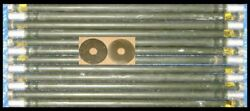 12 4FT + 2 Guy Rings AL ANTENNA TOWER MAST SECTIONS Stacking Poles USED 100% OK