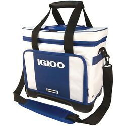 Cooler Bag Small IGLOO 32 Can Divided Beach Ice Beer Wine Bottle Fishing Camping