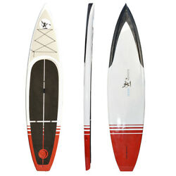 12and039 Fishing Paddle Board Sup Fishing Board With Rod Holders And Tackle Box Ties.