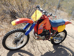 '86 Honda CR500R CR 500 RUNNING RACER Vintage MX MotoCross CORE for Resto