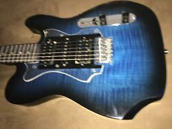 Flame Maple Top And Headstock Custom Telestyle By Anthony Dearth