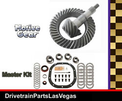Ford 8.8 10 Bolt 3.55 Ratio Ring And Pinion Gear Set Master Install Kit Motive