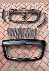 Bentley Continental Gt And Flying Spur Chrome Radiator Grill 09 - 13