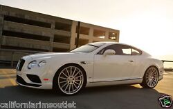 """22"""" Rf15 Staggered Concave Wheels Rims For Bentley Continental Gt And Flying Spur"""