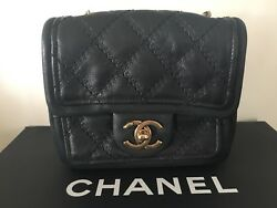 Mint Condition Chanel Cross Body Flap Bag Limited Edition Dallas Collection