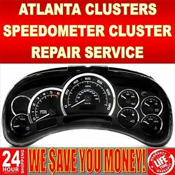 GM Chevy Express Speedometer Instrument Cluster Display and Light Repair Service
