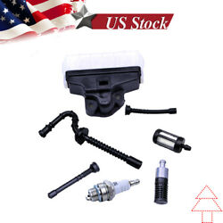 Fuel Oil Line Filter For Stihl 021 023 025 Ms210 Ms230 Ms250 Impulse Air Filter