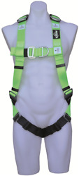 Protecta Confined Space Retrieval Harness Sliding Shoulder D-rings Green