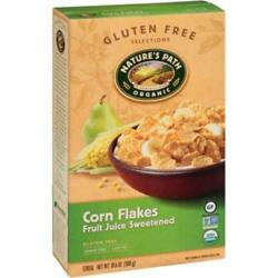 Nature's Path-fruit Juice Sweetened Corn Flakes Cereal, Pack Of 12 10.6 Oz ...