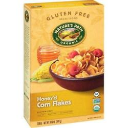 Nature's Path-honey'd Corn Flakes Cereal, Pack Of 12 10.6 Oz Boxes