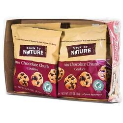 Back To Nature-Chocolate Chunk Grab & Go Cookies, Pack of 100 ( 1.25 oz bags )