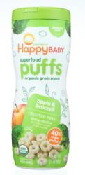 Happy Family-organic Puffs - Apple, Pack Of 6 2.1 Oz Containers