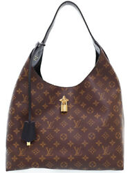 LOUIS VUITTON M43545 Flower Hobo Shoulder Hand Tote Bag Used Ex++