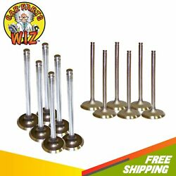 Exhaust And Intake Valves Fits 87-98 Jeep Grand Cherokee 4.0l L6 Ohv 12v