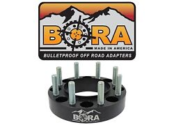 Chevy 3500 1.00 Dually Wheel Spacers 1988-2010 4 By Bora - Made In The Usa