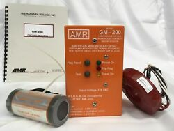 Amr, American Mine Research,ground Monitor, Three Phase Filter, Ct, Gm-200