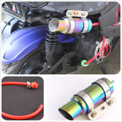 1Pcs GY6 Motorcycle Scooter Modified  RACING Muffler exhaust pipe Amazing Sound