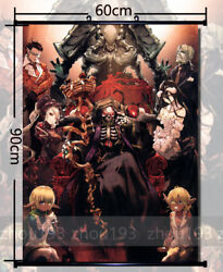 Anime Overlord Wall Scroll Poster Home Decor Art Gift Free Shipping 6090cm