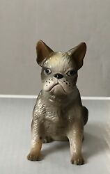 1988 New-Ray Novelty Rubber Boston Terrier Dog Squeak Toy