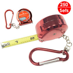250x Measure Tapes Rulers 6ft Retractable Imperial Reel Portable Chain Wholesale
