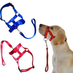 Dog Muzzle Head Collar Control Training Nose Halti Style Halter Loop Harness
