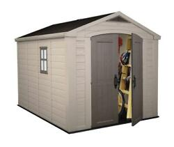 Large Shed 8 by 11-Feet home outdooryardgarden storageshed design tool store