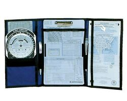 Jeppesen Vfr Tri-fold Kneeboard With Clipboard 10001306 Info At Your Fingertips