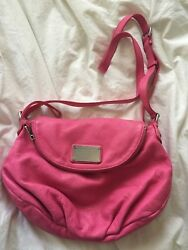 Marc by Marc Jacobs Leather Q Natasha Pink Crossbody Bag