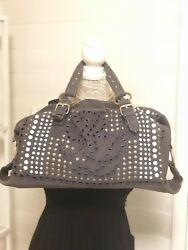 Pre-Owned Women's bimba & lola Denim Handbag Grey $60.00