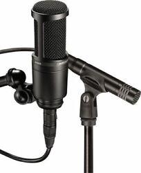 Audio Technica AT2041SP AT2020 + AT2021 Studio Condenser Microphones+SONAR LE