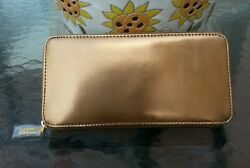 Hobo international genuine leather Lucy wallet color mirror bronze