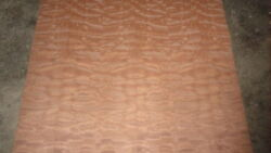 Quilted Makore 4' X 8' 10 Mil Paper Backed Veneer Sheets