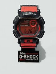 Vintage G-shock Military Army Red Guard Bumper Protect Techno Biker Tough Watch