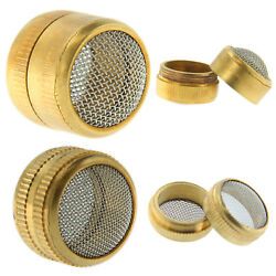Small Parts Cleaning Basket 1quot; 5 8quot; Brass Stainless Mesh Jewelry amp; Watch Repair