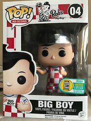 Sdcc 2016 Funko Pop Up Shop Boband039s Big Boy Le 480 In-hand