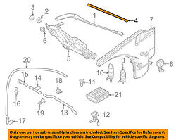Genuine BMW OEM 08-13 1-Series Front Wiper Blade Set 61 61 0 420 549 NEW