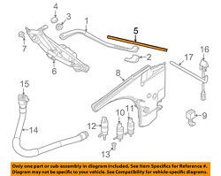 Genuine BMW OEM 07-10 3-Series Front Wiper Blade Set 61 61 0 427 668 NEW