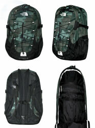 The North Face Men Classic Borealis Backpack Student School Bag OLIVE CAMO