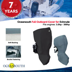 Oceansouth Outboard Motor Engine Full Cover For Evinrude