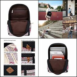 Backpack for middle school girl cute fashionable Causal Travel Set 3 Pieces