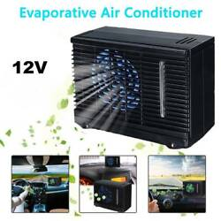 Portable Mini Car Auto Air Cooler Fan Water Ice Evaporative Air Conditioner 12V