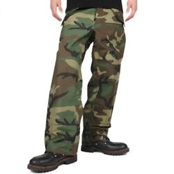 Gore-tex Military Grade Bdu Camo X Large Long Xl L Cold Weather Trousers Pants