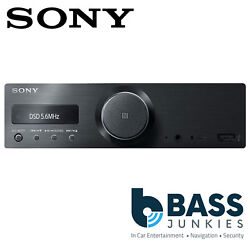 Sony Rs-xgs9 - Mechless Ipod Iphone Mp3 Bluetooth Usb Car Stereo Radio Player