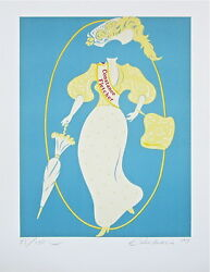 Constance Fletcher The Mother Of Us All, Limited Edition Lithograph, R. Indiana